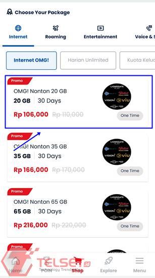 Cara Beli Paket Telkomsel Prabayar MyTelkomsel