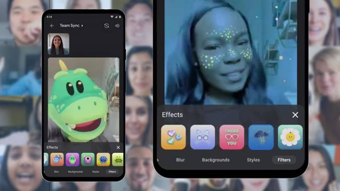Cara Menggunakan Filter Animasi di Aplikasi Google Meet