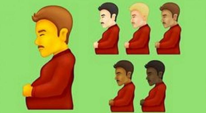 Emoji pria hamil
