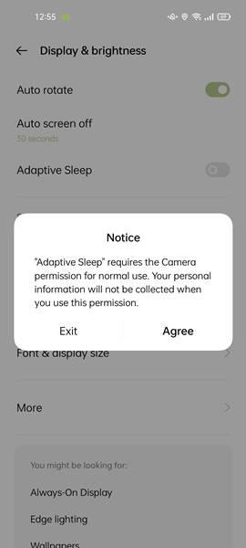 Fitur Adaptive Sleep Oppo Reno6