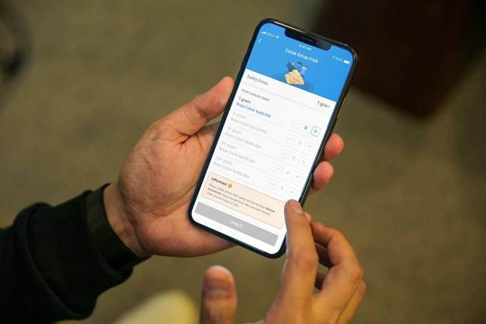 Makin Gampang, Beli Emas Fisik Bisa Langsung di Aplikasi DANA