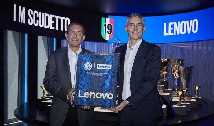 Logo Lenovo Jersey Inter Milan