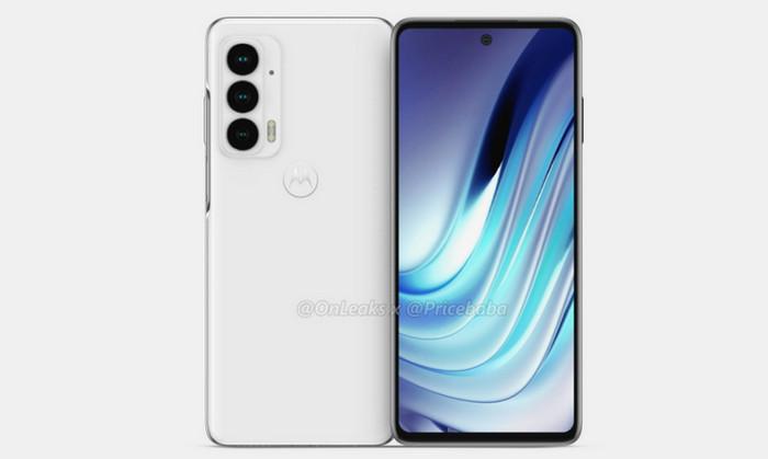 Desain Motorola Edge 20
