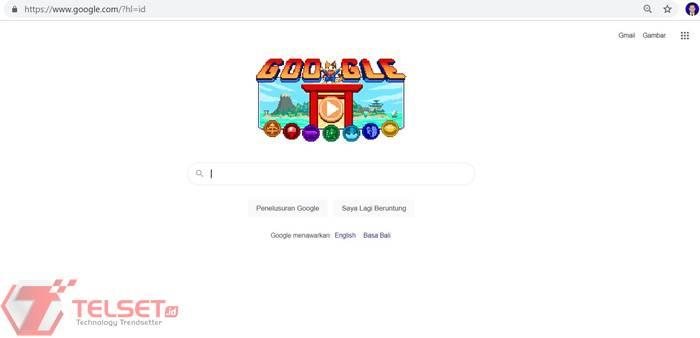 Olimpiade Tokyo Google Doodle