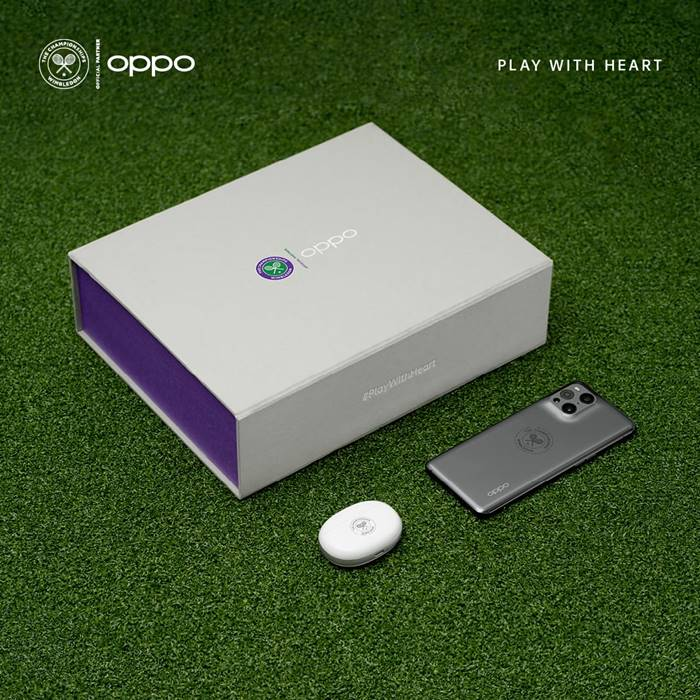 Oppo Find X3 Pro 5G Wimbledon Special Edition