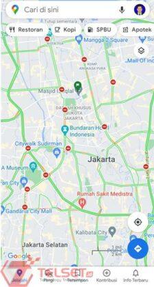 Penyekatan jalan PPKM Darurat Google Maps