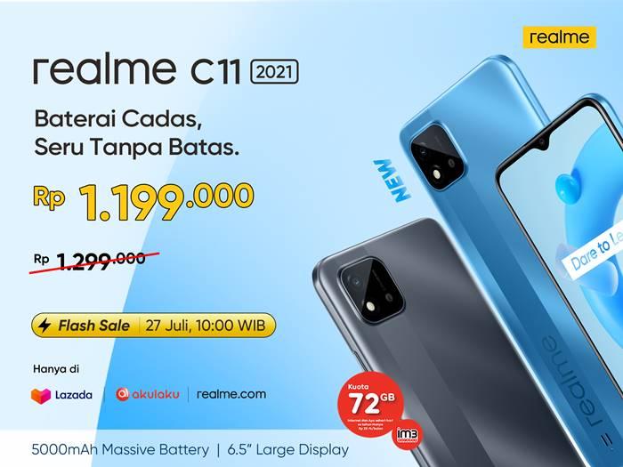 Spesifikasi Harga Realme C11 2021 Indonesia