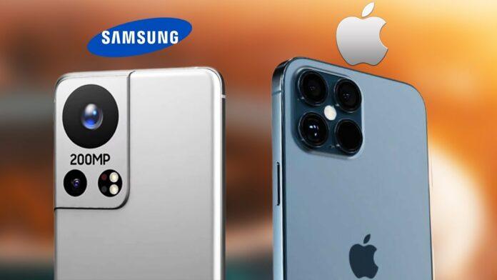 Samsung Galaxy S22 iPhone 13