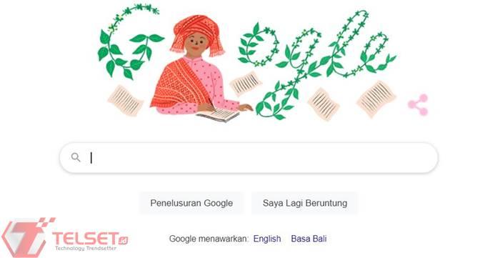 Sariamin Ismail Google Doodle