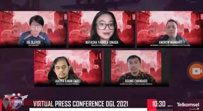 Telkomsel Dunia Games League 2021