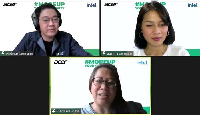 Online Workshop Gratis Acer #MoreUp