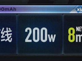 Xiaomi Fast Charging 200W NuVolta