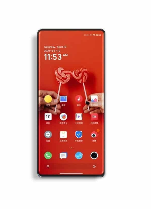 Xiaomi Mi Mix 4 Kamera Bawah Layar