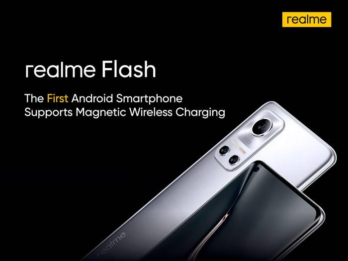 Realme Flash, Smartphone Android Pertama dengan Charger Magnetik