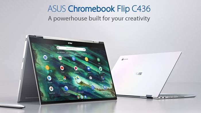 Asus Chromebook Flip C436 Tiba di Indonesia, Segini Harganya