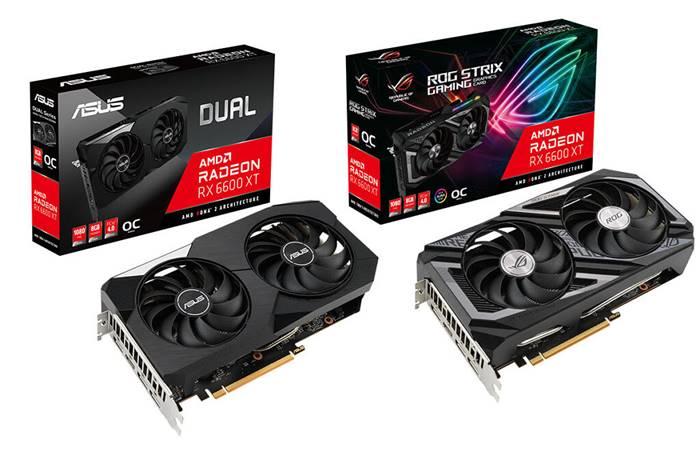 Asus Luncurkan Dua Kartu Grafis AMD Radeon RX 6600 XT