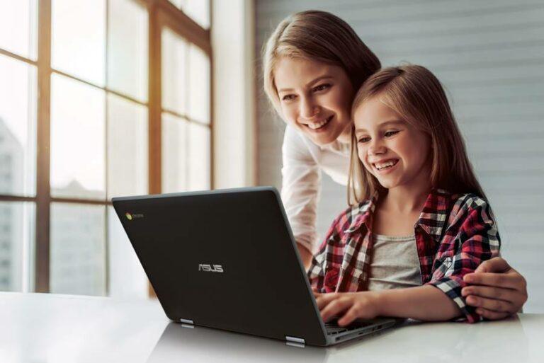 Asus Chromebook C214 Masuk Indonesia, Laptop untuk Belajar Anak