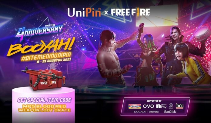 Cashback Top Up Free Fire Unipin