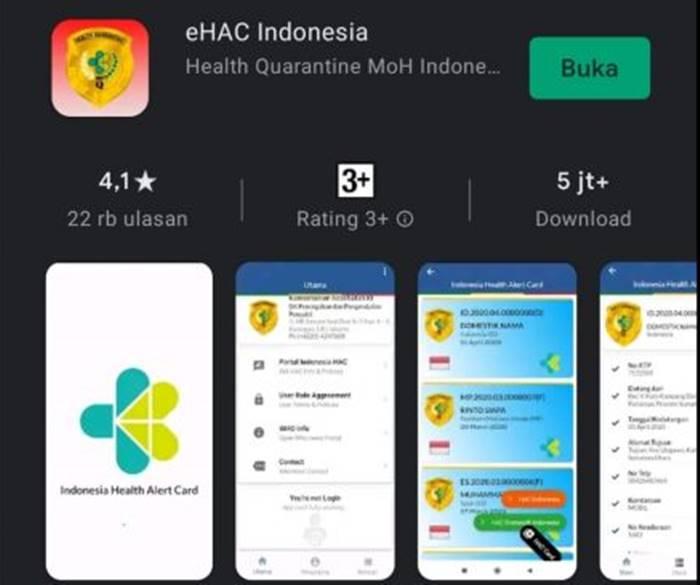 Data Aplikasi eHAC Kemenkes Bocor