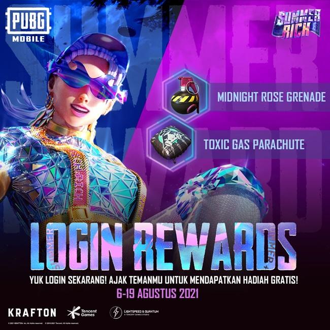 Event PUBG Mobile Summer Rich
