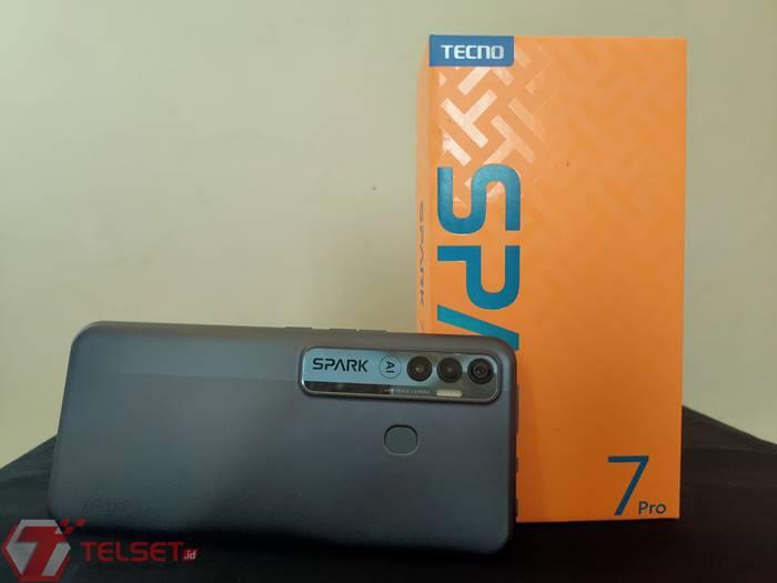 review Tecno Spark 7 Pro