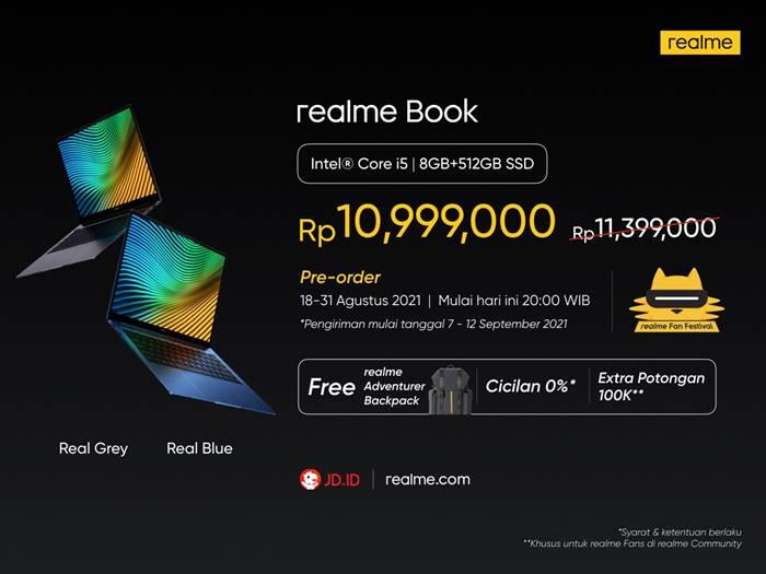 Harga Realme Book Indonesia