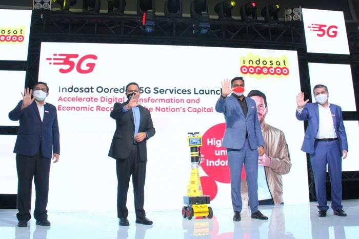 Indosat Resmi Gelar 5G di Jakarta, Ini 5 Titik Lokasinya