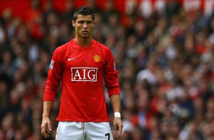 Machester United Cristiano Ronaldo
