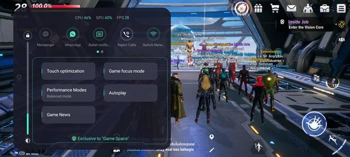 Marvel Future Revolution Realme GT Master Edition