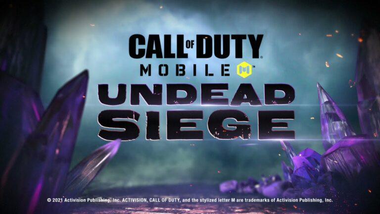Asyik! Mode Zombie Undead Siege Hadir Lagi di COD Mobile