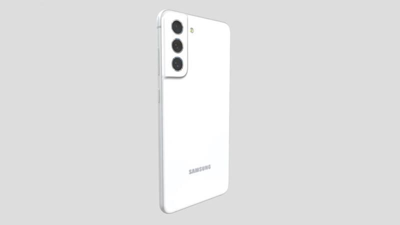 Model 3D Samsung Galaxy S21 FE