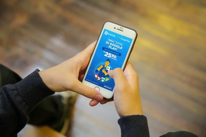 Bayar Aplikasi dan Game di Google Play Bisa Lewat DANA