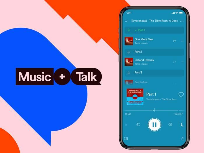 Spotify Hadirkan Fitur Baru Music + Talk ke Indonesia