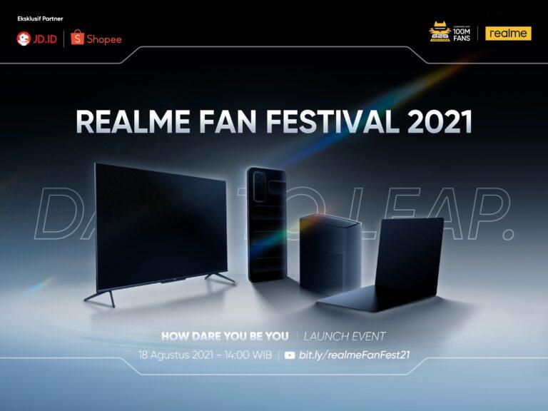 Realme Book dan Realme GT Master Edition akan Dirilis di Indonesia
