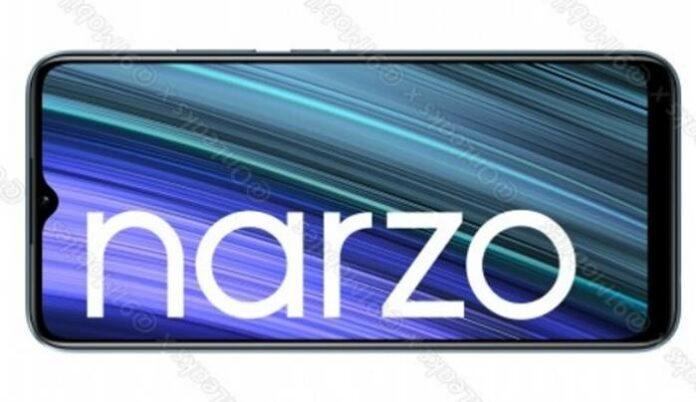Desain HP Murah Realme Narzo 50A