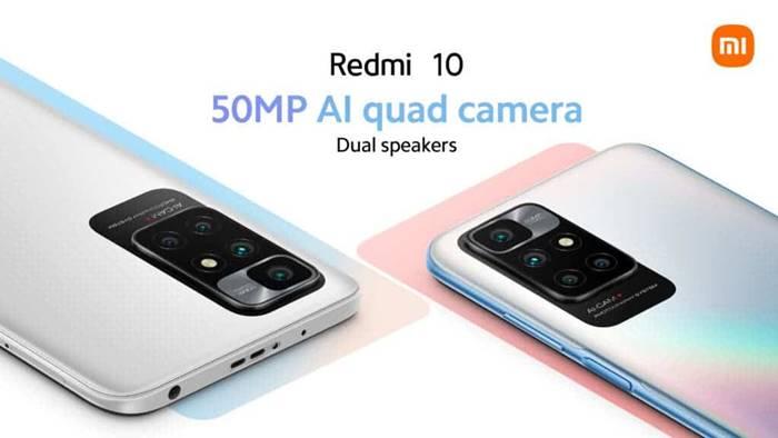 spesifikasi Redmi 10
