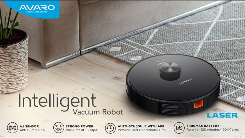 Robot Vacuum Cleaner Avaro Laser