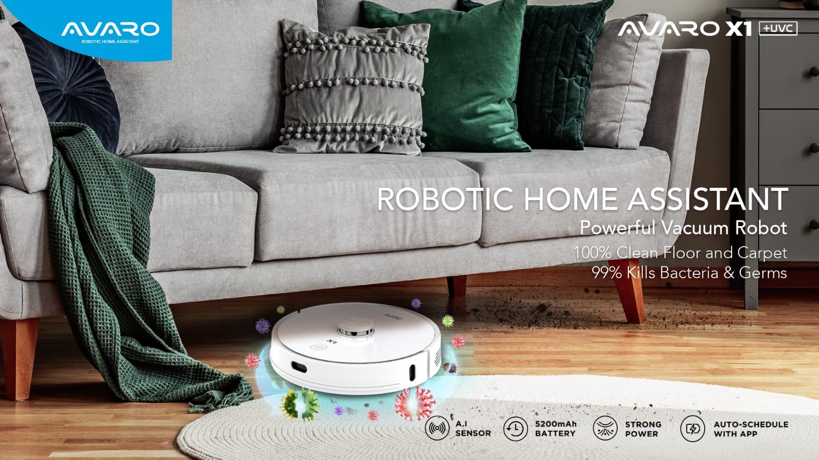 Robot Vacuum Cleaner Avaro X1