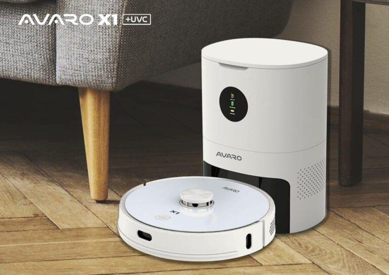 Avaro X1 dan Laser, Robot Vacuum Cleaner dengan Navigasi Canggih