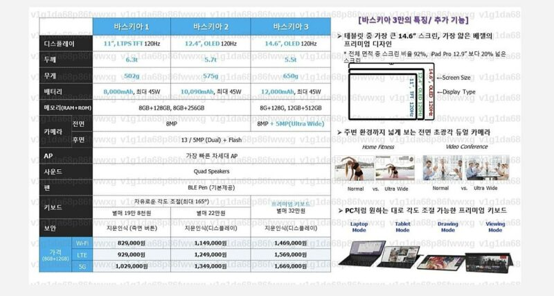 Spesifikasi Samsung Galaxy Tab S8