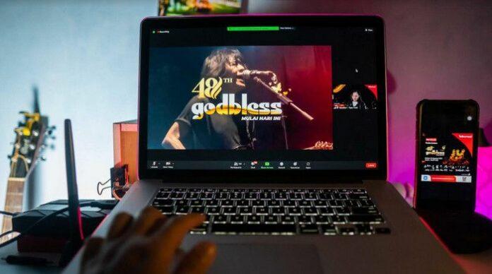 Konser God Bless Virtual