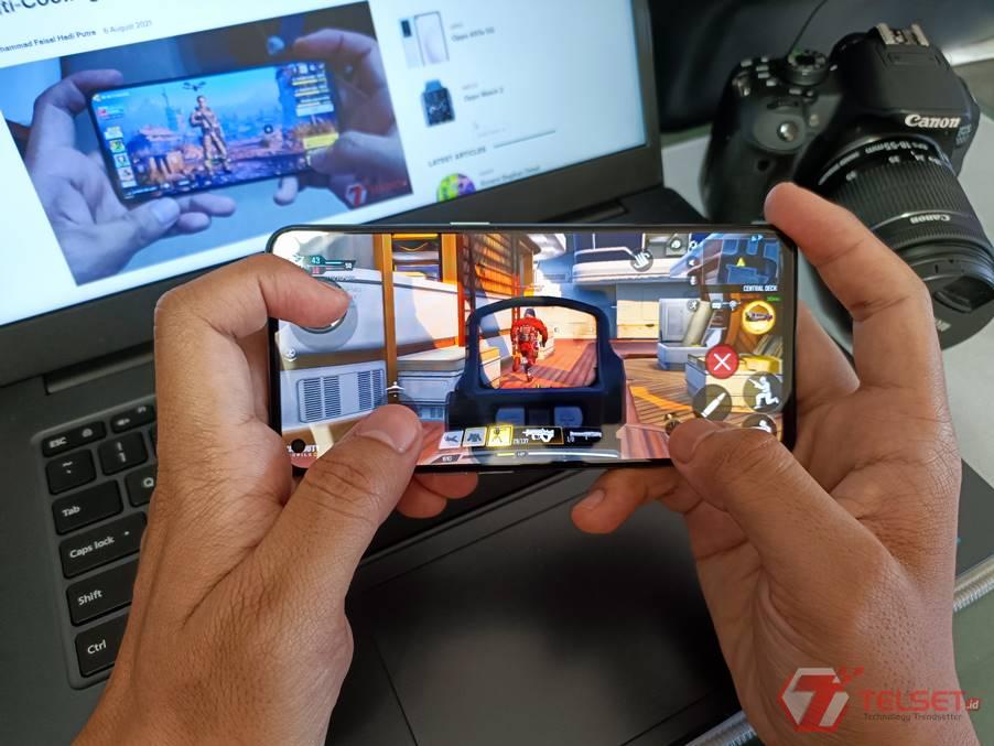 Tes Gaming Oppo Reno6