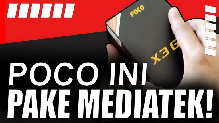 Unboxing Poco X3 GT: MediaTek Dimensity 1100 Pertama!