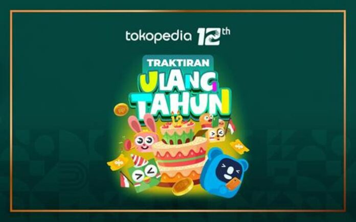 Promo Tokopedia ulang tahun
