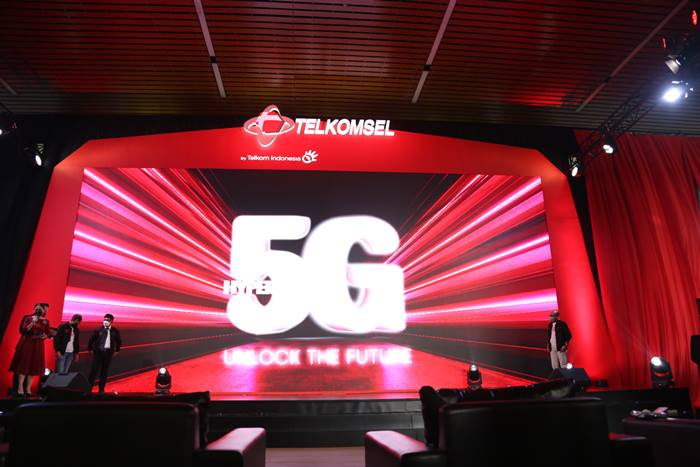 Area Jaringan 5G Indonesia