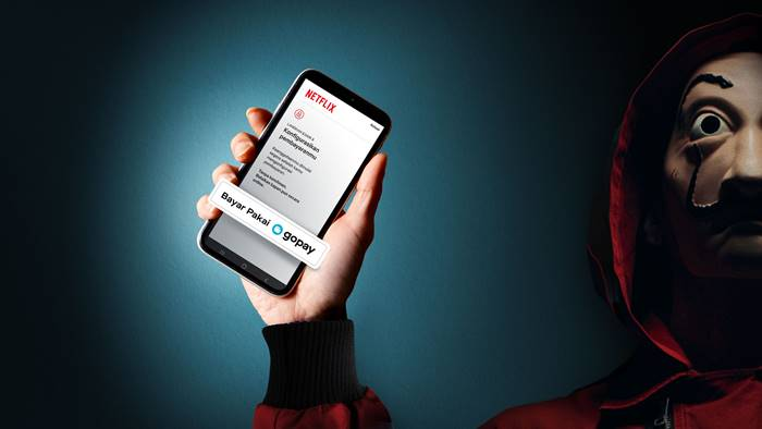 Cara Mudah Bayar Langganan Netflix dengan GoPay
