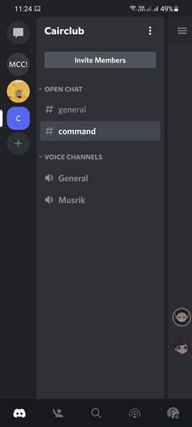 Cara Setting Voice Video Call Discord