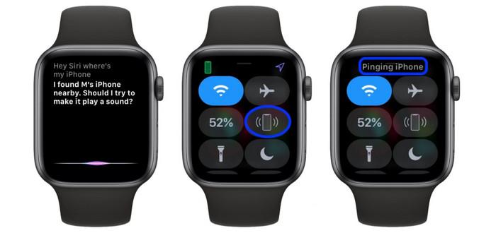 menemukan perangkat Apple menggunakan Siri