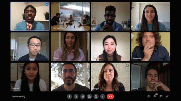 Fitur Google Meet Kecerahan Otomatis