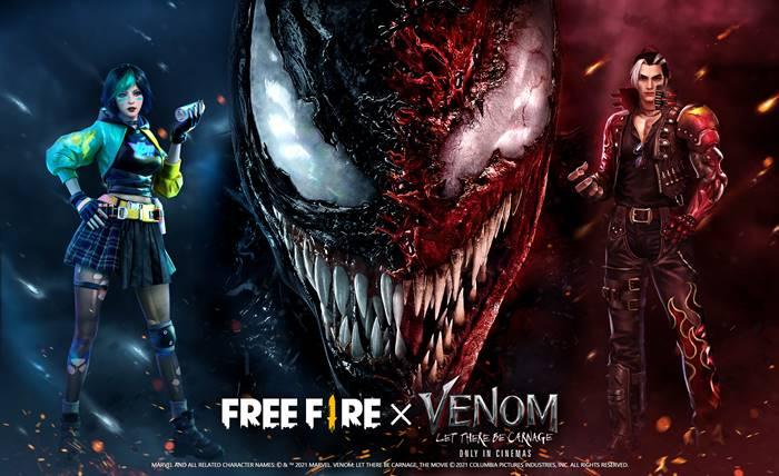 Siap-siap! Koleksi Skin Terbaru Venom Bakal Tampil di Free Fire